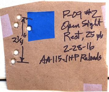Pistol Range 2-28-16