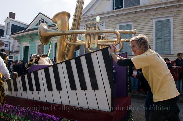 Barkus Parade Mardi Gras 2010
