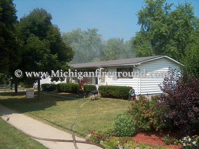 7/19/07 - Mason house fire, 172 N. Jefferson