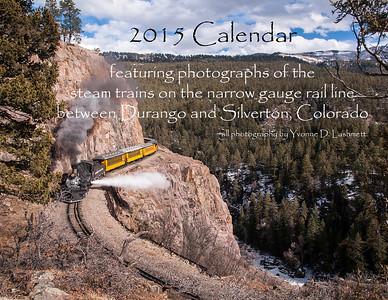 2015 Durango Train Calendar