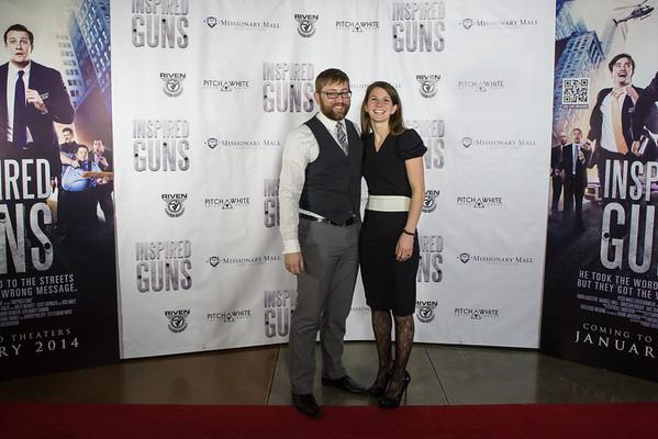Inspired Guns Red Carpet Event