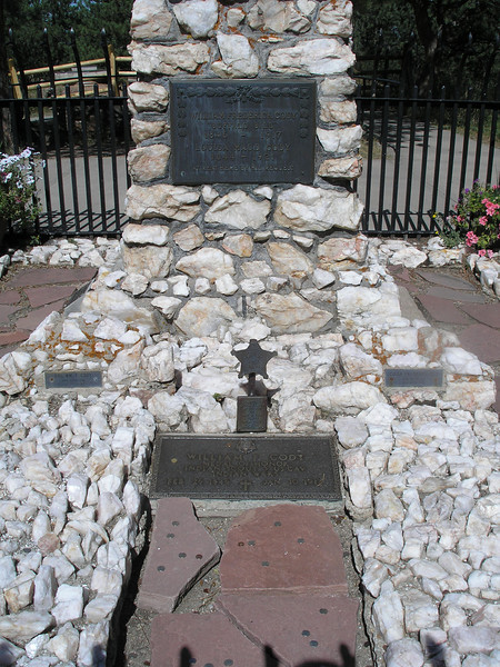 Buffalo Bill's grave - Received Medal of Honor as Indian Scout