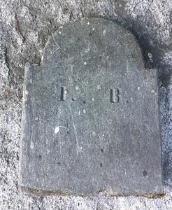 Headstone Fragments in Town Tomb