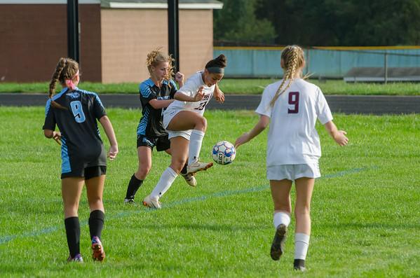 WM Girls Soccer vs WHS 10_5_18