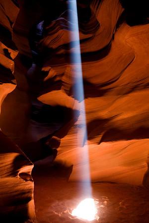 Antelope Canyon, Page Arizona  5-09