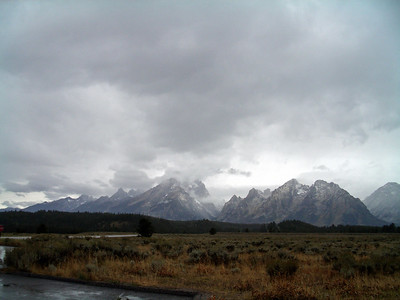 Grand Tetons National Park & Way to Jackson Hole