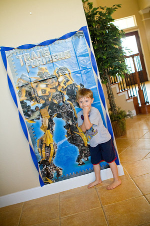 Jonah's 5th Birthday Party | Transformers