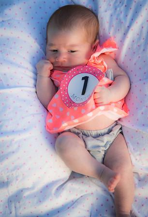 Kira 1 Month Old