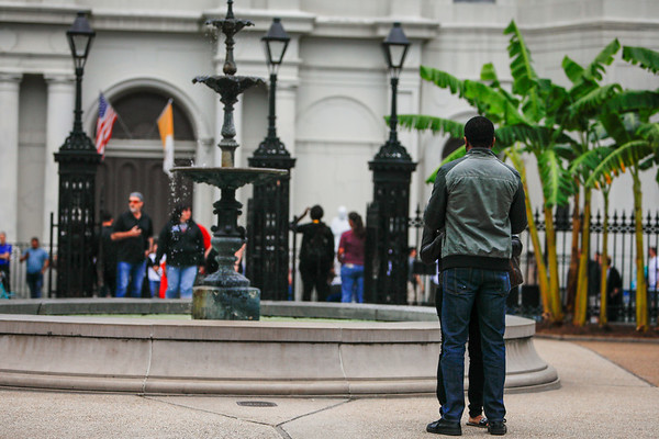 Christopher Jackson Square Proposal, New Orleans.
