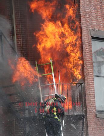 Boston, MA - 9th Alarm, 298 Beacon Street, 3-26-14