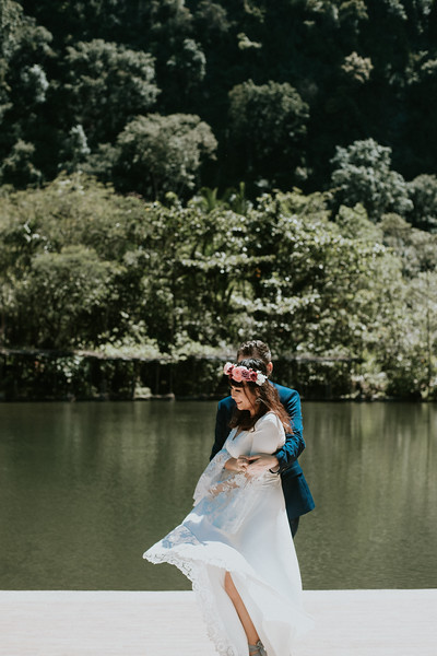 V&M post wedding shooting in Ipoh, Malaysia