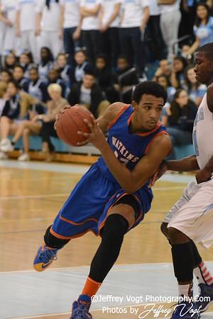 02-21-2014 Clarksburg HS vs Watkins Mill HS Varsity Boys Basketball, Photos by Jeffrey Vogt Photography