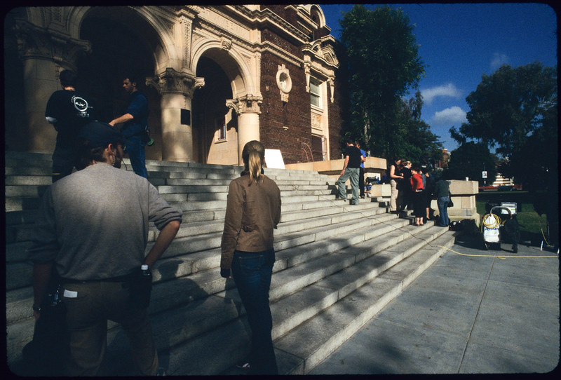 Industrial film, Paw and Order, shooting, Los Angeles, 2004