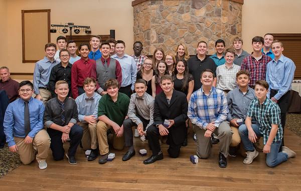 11-19-17 8th Grade Banquet