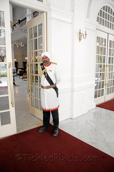 Raffles Hotel Doorman