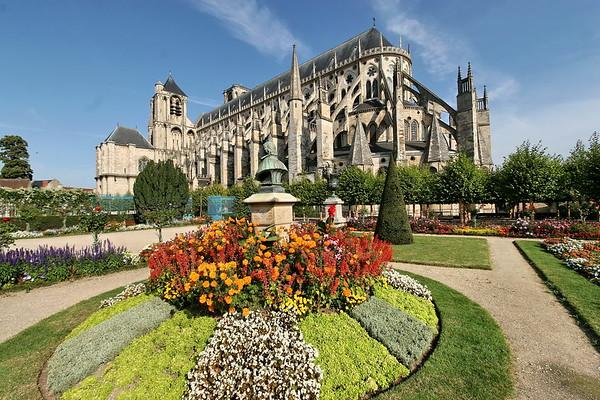 Cathedrale de Bourges - Exterieurs