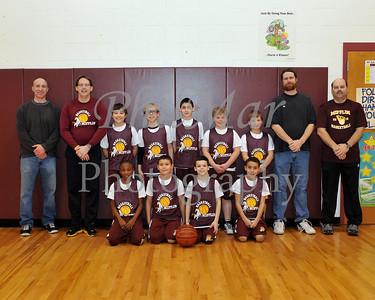 4th Grade Mifflin Basketball