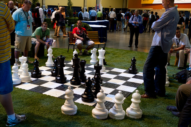 Serious chess game