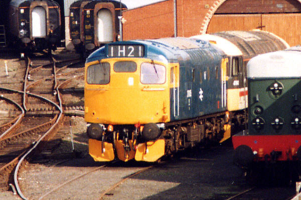27005 at Bo'ness on the 18th April 1999