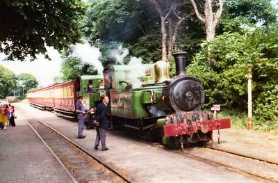 Isle of Man Steam Railway Summer 1977