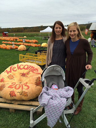 First trip to the Pumpkin Patch
