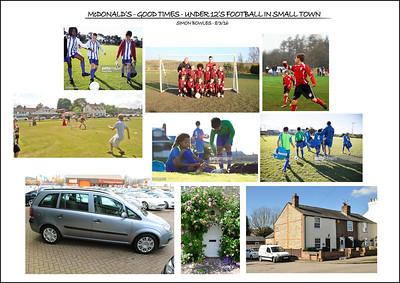 Village Green Football Mood Board