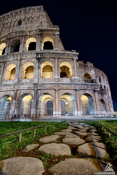 Path to the Past - Amphitheatrum Flavium or Colosseum of Rome