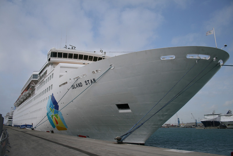 2008 - M/S ISLAND STAR in Civitavecchia.