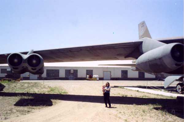 99 Allen w Mom by plane_2.JPG