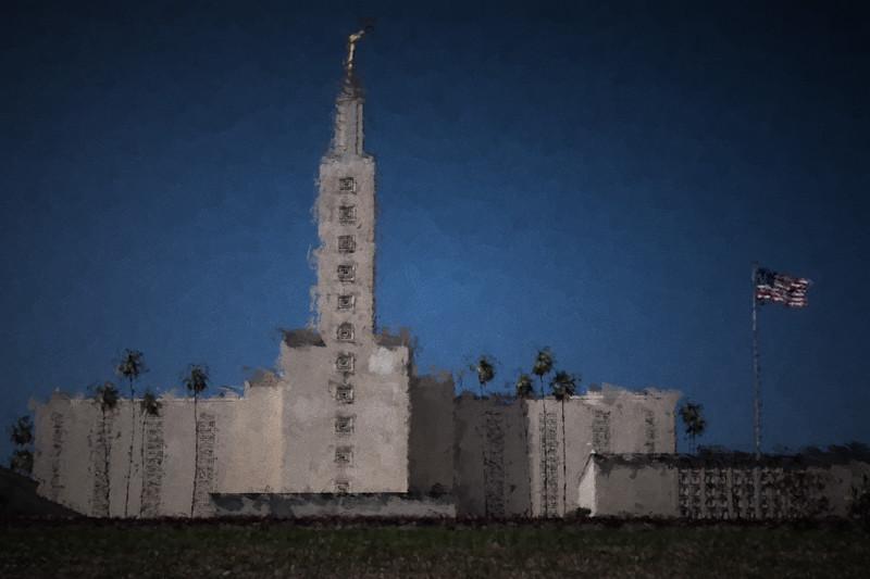 April 1 - Mormon Temple, Los Angeles.jpg
