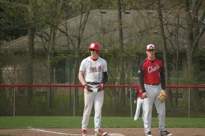HS Sports - New Boston Huron at Grosse Ile Baseball