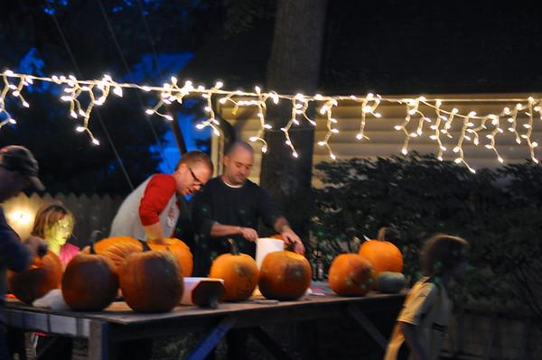 Y-Tribe Pumpkin Carving