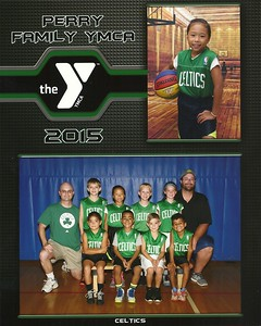 July 28, 2015 - Emily Basketball at the YMCA