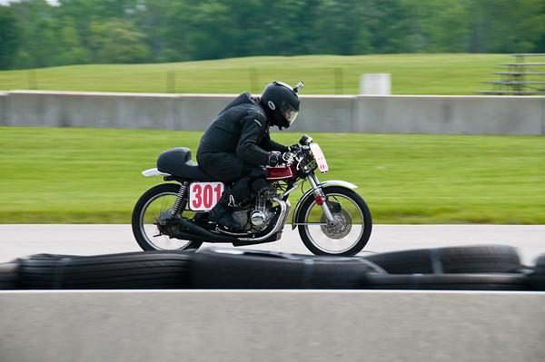 Road America AHRMA Vintage Motorcycle Racing June 7-9, 2013