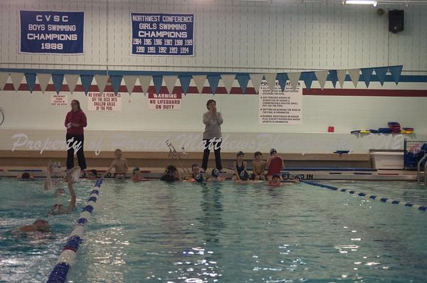 Plainville Dolphins swim practice