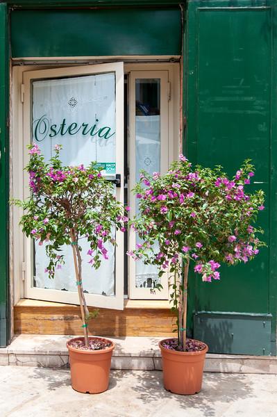 Osteria Entrance, Martina Franca, Apulia (Puglia), Italy