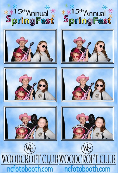 Woodcroft Spring Fest Photo Strips 2016