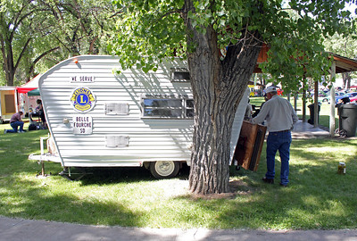 The Belle Fourche Lions Club trailer has served us well.  To learn more about the Lions Club, visit our Belle Fourche Lions Club Home Page.