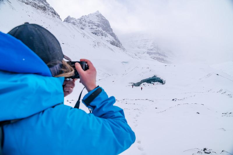 Snow Dome Glacier November 2020