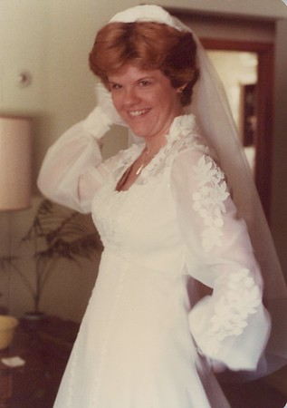 1978 - Deb Wedding