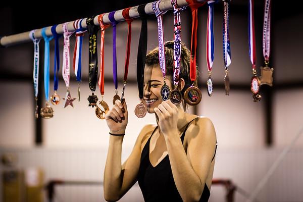 20180613 Anna's Gymnastics Memories