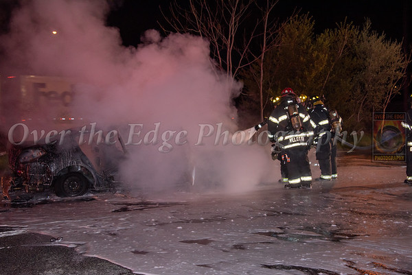 Jericho Car Fire 04/19/2021