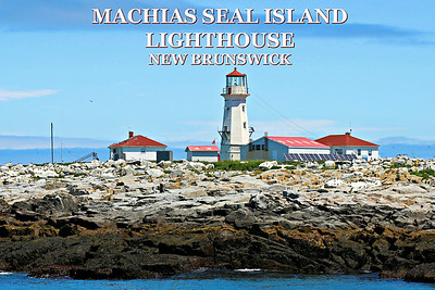 Machias Seal Island Lighthouse, New Brunswick