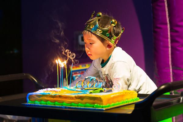 2019-02 - William's 5th Birthday