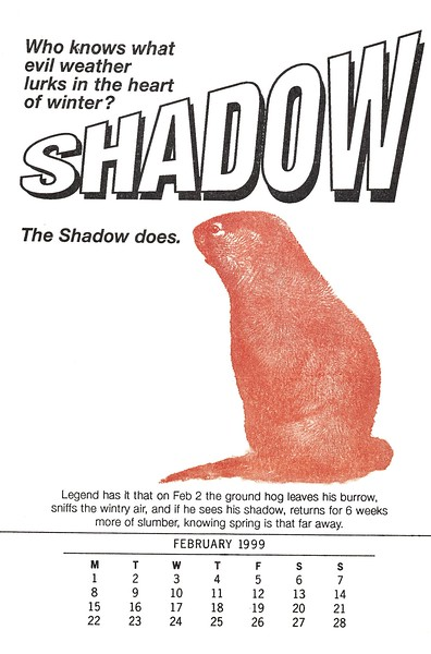 February, 1999, No Name Press