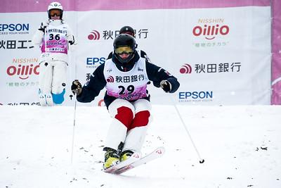Feb 21, 2019 - Tazawako moguls World Cup