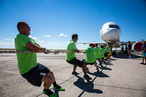 8-13-16 Special Olympics Plane Pull