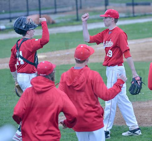 Baseball: NCHS @ WWS 4/29/2016