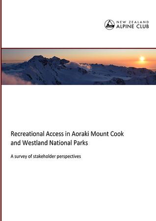Recreational access survey