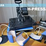 SKU: H-PRESS/MT6, Heatware MT6 1400W Heat Press Multitalent with Flat Press, Two Mugs Presses, Two Plate Presses and Cap Press Attachments